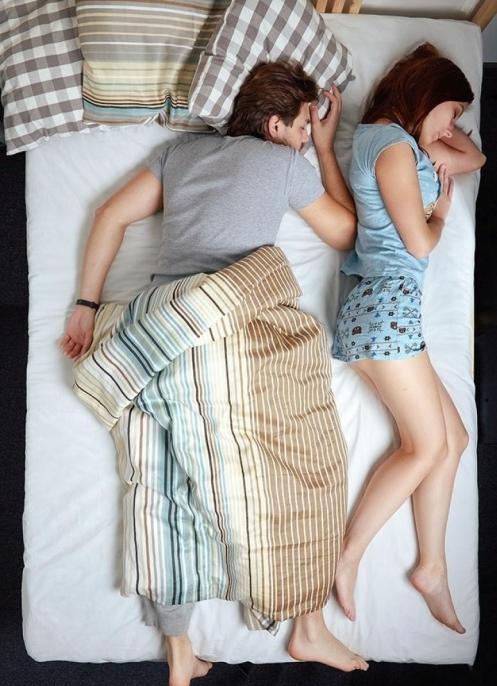 sevgili uyuma şekilleri