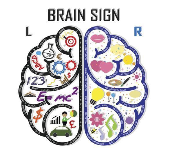 sağ sol beyin kadınlar erkekler